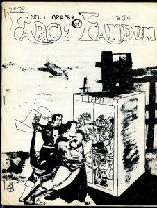 Farce of Fandom #1 1968- rare parody fanzine- Stan Lee- spoofs