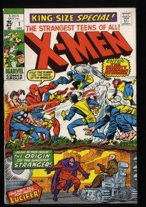 X-Men Annual #1 VF 8.0