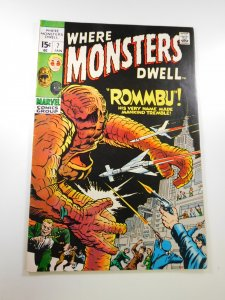 Where Monsters Dwell #7  VF- condition