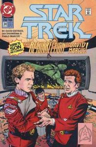 Star Trek (1989 series) #34, VF+ (Stock photo)
