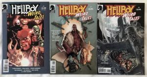 HELLBOY: WEIRD TALES - THREE (3) Issue Lot - #4, #7, and #8