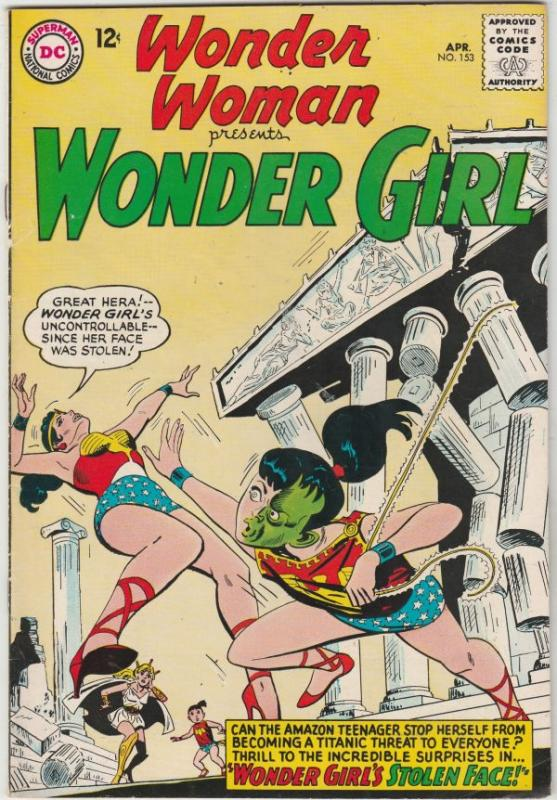 Wonder Woman #153 (Apr-65) VF/NM High-Grade Wonder Woman