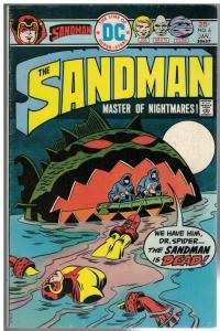 SANDMAN (1974) 6 VG-F Jan. 1976