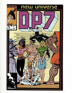 Lot of 11 D.P.7 Marvel Comic Books #1 2 3 4 5 6 7 8 9 10 Annual #1 SB1
