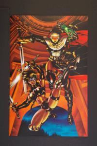 Warrior Nun Areala and Avengelyne #1 Dec 1996. Antarctic.