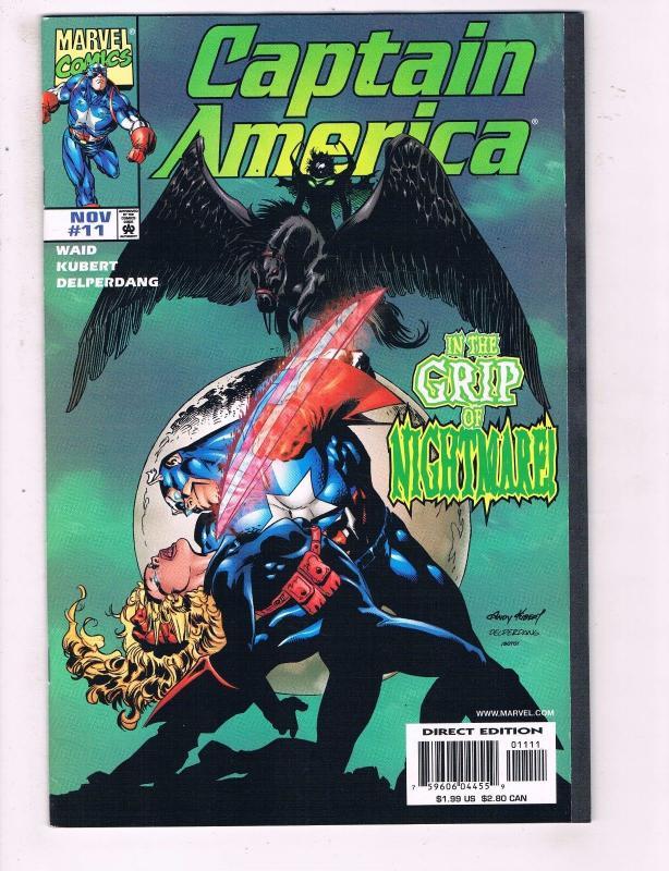 Marvel Comics Captain America Annual #11 VF+ NM 1992
