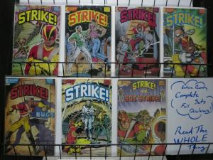 STRIKE (1987 EC) 1-6,SP 1 another great ECLIPSE series