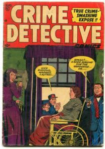 Crime Detective Vol 3 #4 1952- Wheelchair cover- Golden Age VG