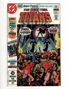 Lot of 12 The New Teen Titans Comics #21 24 26 33 34 39 40 41 42 43 46 47 J418