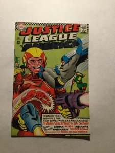 Justice League Of America 50 Very Good Vg 4.0 Subscription Fold Dc Comics