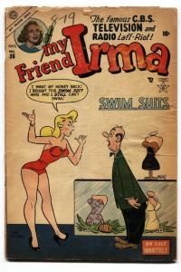 My Friend Irma #36 1953-Atlas-Dan DeCarlo-Good Girl art-Swim suit cover