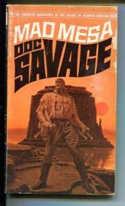 DOC SAVAGE-MAD MESA-#66-ROBESON-G-JAMES BAMA COVER G