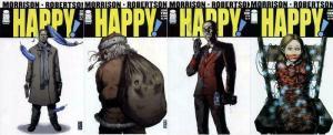 HAPPY (2012 IM) 1A-4A  Grant Morrison  COMPLETE!