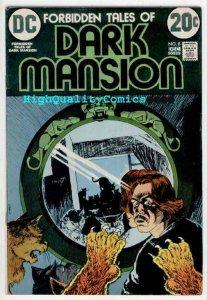 FORBIDDEN TALES OF DARK MANSION #8, FN+, Micheal Kaluta, Howard Chaykin, Horror