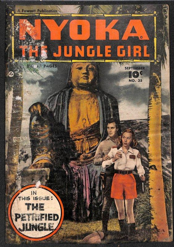 Nyoka the Jungle Girl #35 (1949)