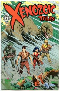 XENOZOIC TALES #8, FN/VF, Mark Schultz, Dinosaurs, more Kitchen Sink in store