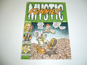 Mystic Funnies #2 VF (1st) print - robert crumb - mr. natural  last gasp 1999