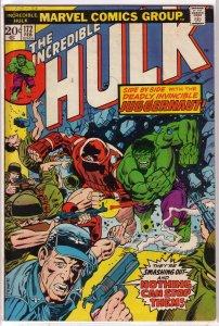 Incredible Hulk   vol. 1   #172 VG
