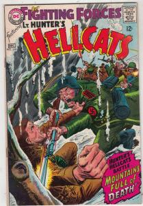 Our Fighting Forces #110 (Dec-67) FN/VF Mid-High-Grade Lt. Hunter, the Hellca...