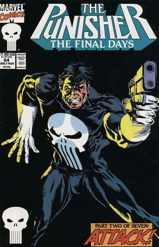 Punisher, The (2nd Series) #54 VF/NM; Marvel | save on shipping - details inside