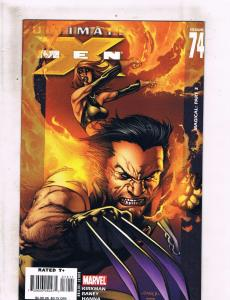 Lot of 2 Ultimate X-Men Marvel Comic Books #74 75 76 BF5