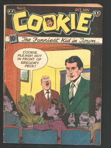 Cookie #15 1948-ACG-Gregory Peck cover-Pickles by Al Hartley-Spicy Good Girl ...