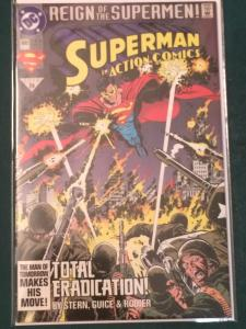 Action Comics #690 Reign of the Supermen