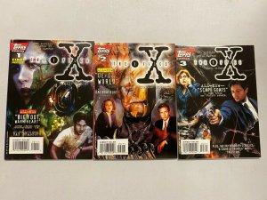 The X Files Set #1-3 8.0 VF (1995)