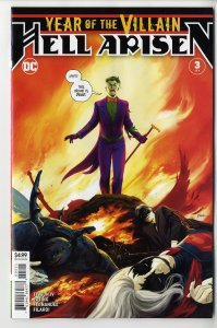YEAR OF THE VILLAIN HELL ARISEN (2019 DC) #3 1st Full Appearance of Punchline NM
