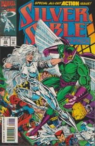 SILVER SABLE AND THE WILD PACK #22 - 1994 -  MARVEL - BAGGED & BOARDED