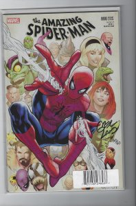 Amazing Spider-Man #800 Variant Signed by Greg Land