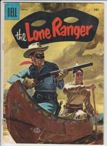 Lone Ranger, The #92 (Feb-56) FN+ Mid-High-Grade The Lone Ranger, Tonto, Silver