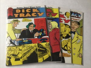 Dick Tracy 21-24 21 22 23 24 Lot Set Run Fn Fine 6.0 Blackthorne Publishing