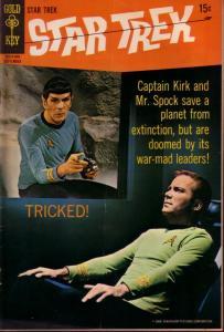 STAR TREK #5 PHOTO COVER TV SERIES    ENTERPRISE  1969 VG/FN