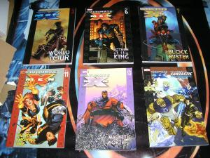 ULTIMATE X-MEN TPB Lot, 6 diff Good Condition