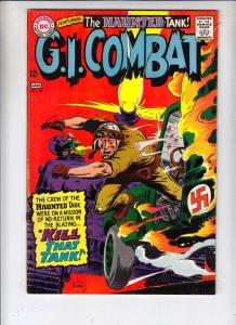 G.I. Combat #127 (Jan-68) VG/FN+ Mid-Grade The Haunted Tank