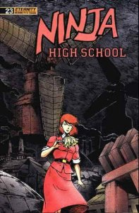 Ninja High School #23 VF/NM; Malibu | save on shipping - details inside
