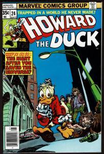 Howard the Duck #24 (May 1978, Marvel) 8.0 VF