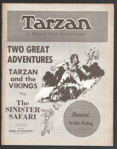 Tarzan-Two Great Adventures #5 1970-Tarzan & The Vikings and The Sinister ...