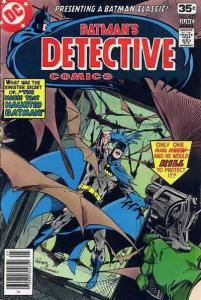 Detective Comics #477 FN; DC   save on shipping - details inside