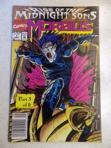 MORBIUS THE LIVING VAMPIRE # 1 MARVEL MOVIE ACTION ADVENTURE