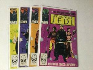 Return Of The Jedi 1-4 1 2 3 4 Lot Set Run Nm Near Mint Marvel