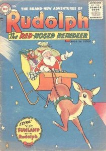 Rudolph the Red-Nosed Reindeer (1950 series) #6, Poor (Stock photo)