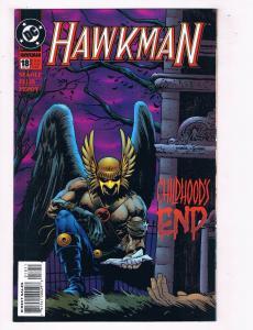 Hawkman #18 VF DC Comics Comic Book Seagle JLA Mar 1995 DE38 AD11
