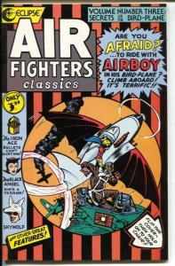 Air Fighters Classics #6 1989-Eclipse-Golden Age comic reprint-Airboy-Skt Wolf-F