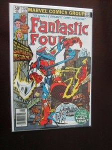 Fantastic Four #226 Newsstand - VF - 1981