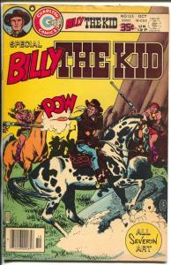 Billy The Kid #125 1978-John Severin cover & story art-FN+