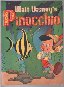 Walt Disney's Pinocchio #708 1939-Whitman-96 page story book-VG-