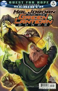 Hal Jordan & the Green Lantern Corps #16 VF/NM; DC | save on shipping - details