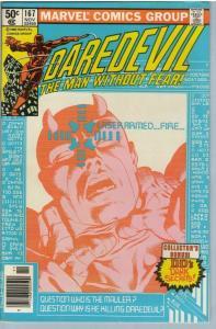 Daredevil 167 Nov 1980 FI-VF (7.0)